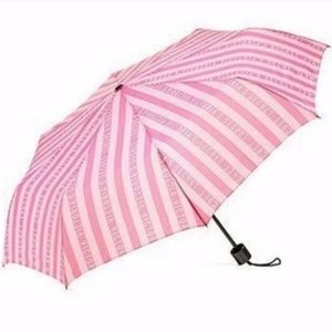 💕 2019 Victoria's Secret Pink Stripe Umbrella